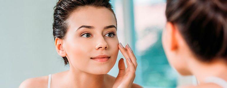 Косметический уход за молодой кожей