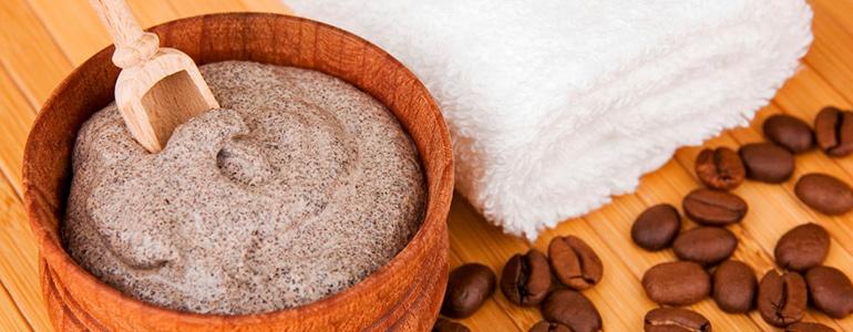 Изображение Кофейный скраб для бани