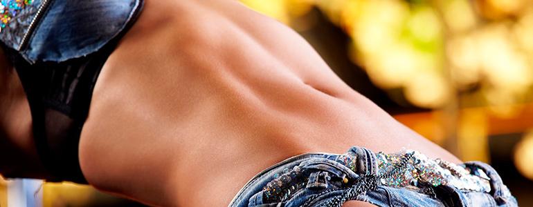 Изображение Стрии или растяжки на коже